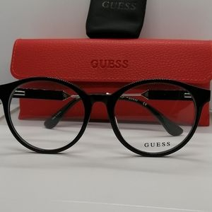 Brand New/Authentic Guess Eyeglass GU2719 BLK/SILV